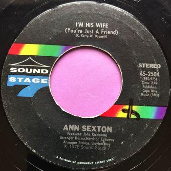 Ann Sexton-I'm his wife-Sound stage 7 wol E+