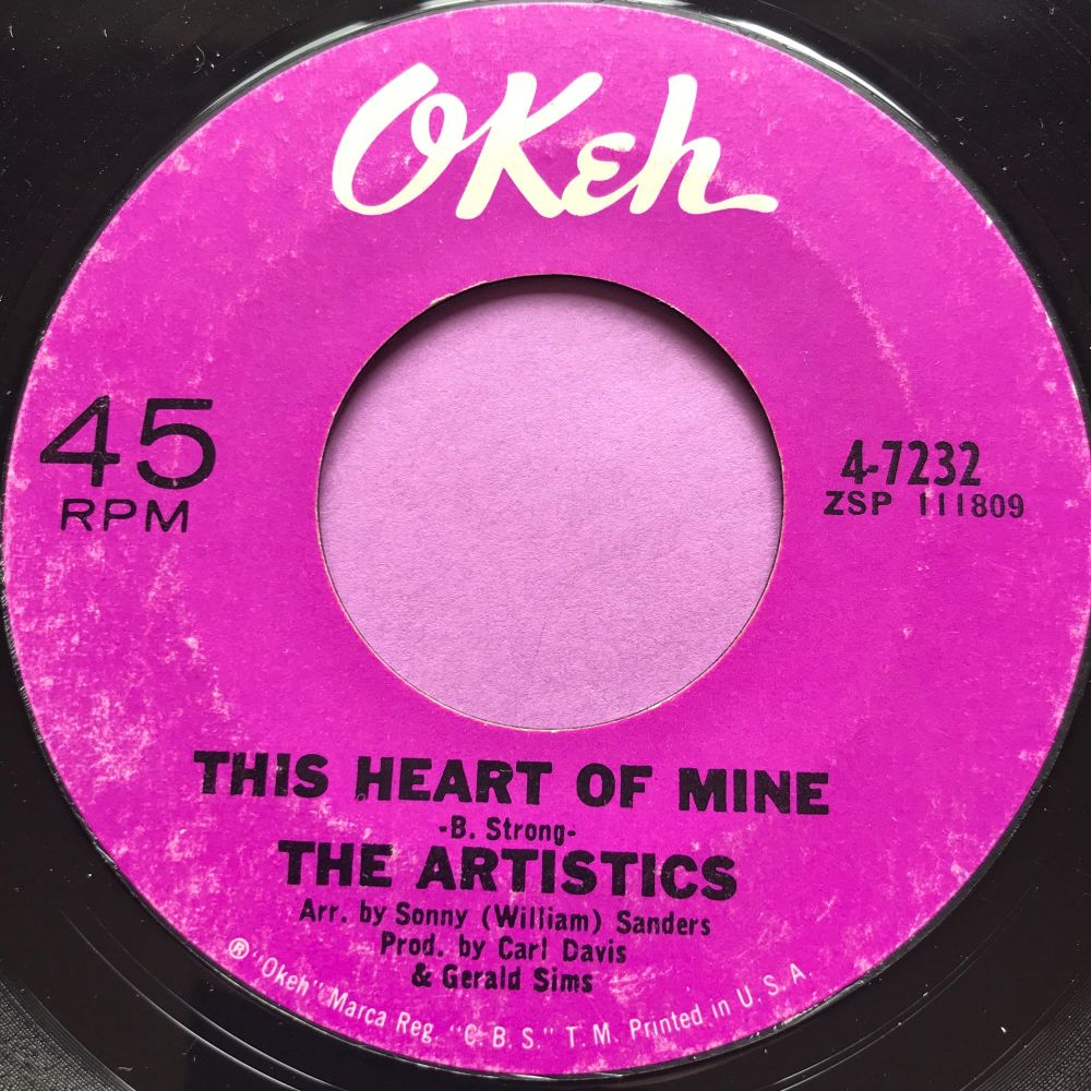 Artistics-This heart of mine-Okeh E