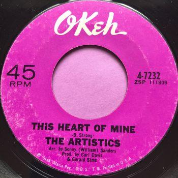 Artistics-This heart of mine-Okeh E