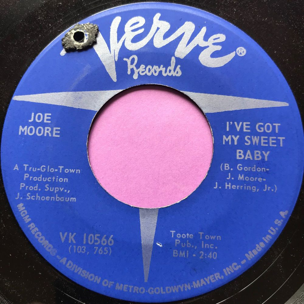 Joe Moore-I ain't/ I've got my sweet baby-Verve E+