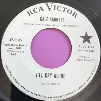 Gale Garnett-I'll cry alone-RCA WD E+