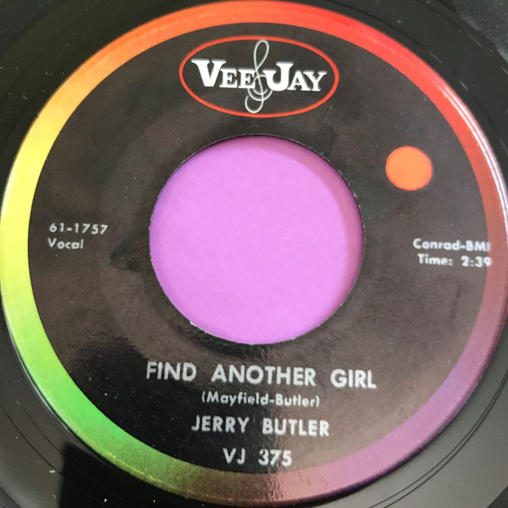 Jerry Butler-Find another girl-VJ E+