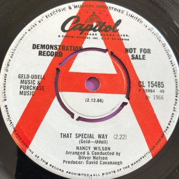 Nancy Wilson-That special way-Capitol UK WD E+