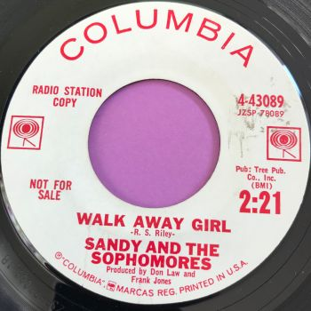 Sandy and the Sophomores-Walk away girl-Columbia WD E+