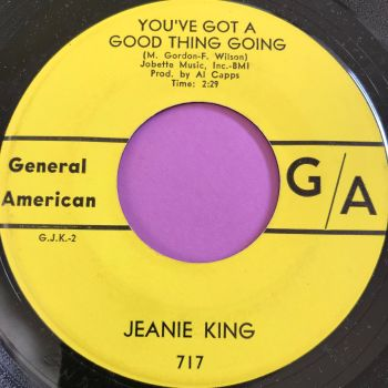 Jeanie King-You've got a good thing going-General American E+