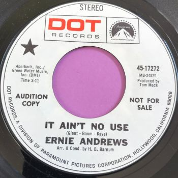 Ernie Andrews-It ain't no use-DOT WD E+