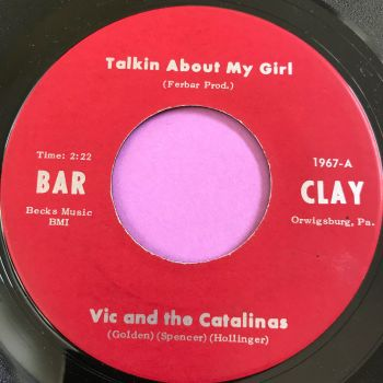 Vic and the Catalinas-Talkin about my girl-Barclay E+