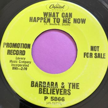 Barbara & The Believers-What can happen to me now-Capitol Demo E