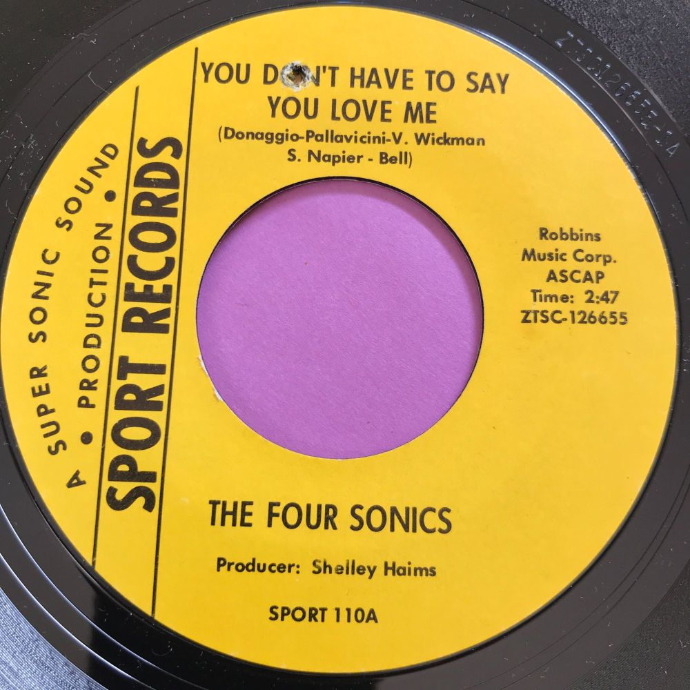Four Sonics-You don't have to say you love me-Sport E+