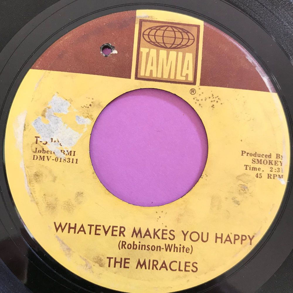 Miracles-Whatever makes you happy-Tamla LT E