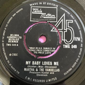 Martha Reeves-My baby loves me-TMG 549 E+