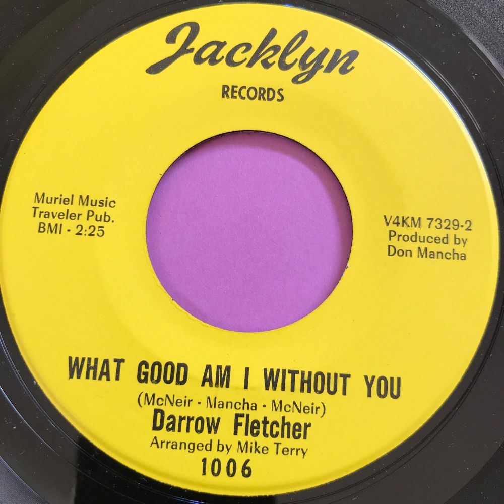 Darrow Fletcher-What good am I without you-Jacklyn E+