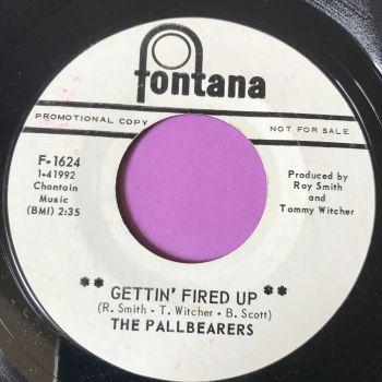Pallbearers-Gettin' fired up-Fontana WD E+