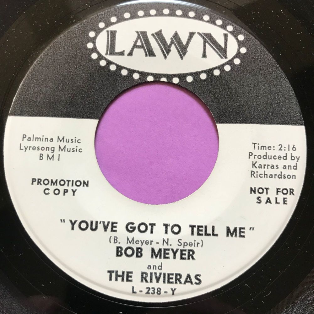 Bob Meyer-You've got to tell me-Lawn WD M-
