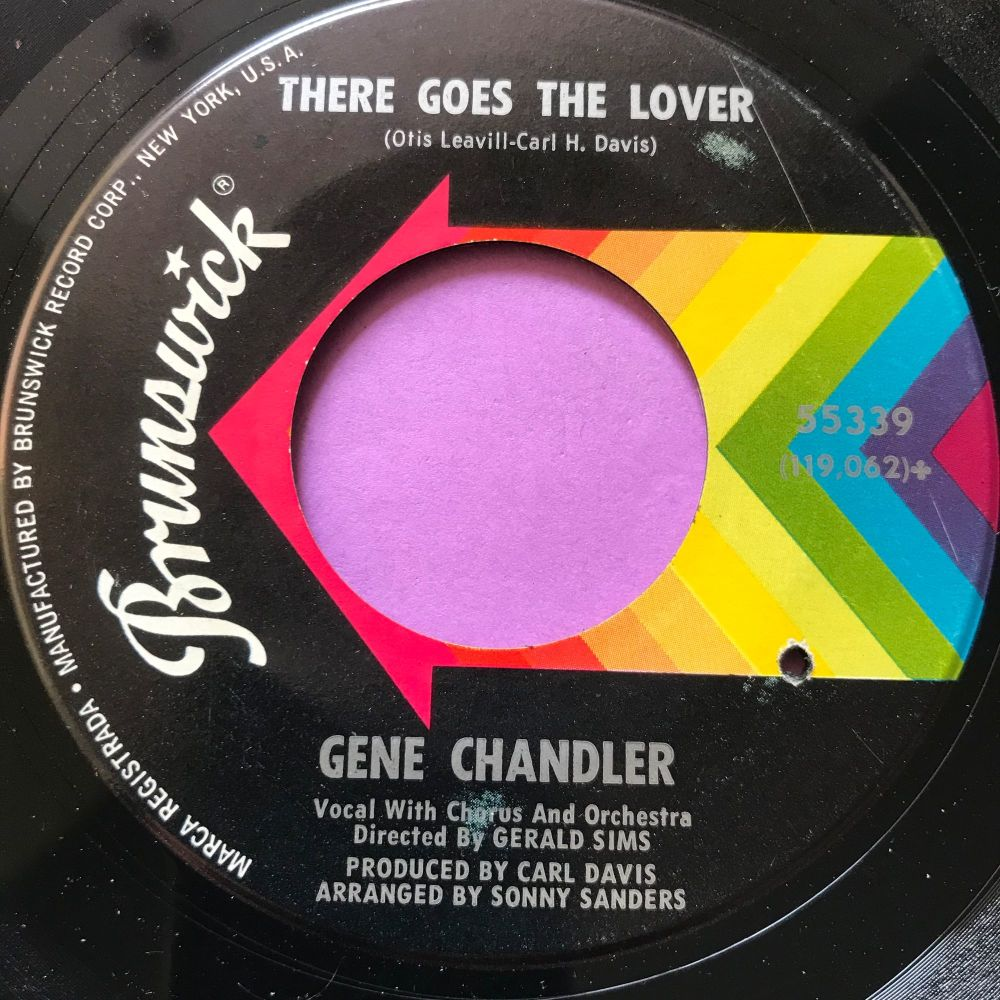 Gene Chandler-There goes the lover-Brunswick E+
