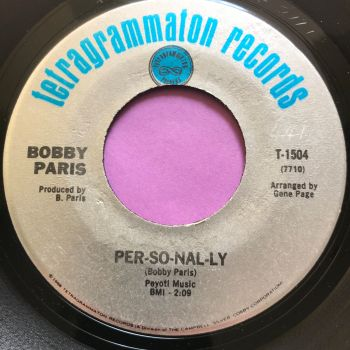 Bobby Paris-Per-so-nal-ly-Tetragrammaton E+