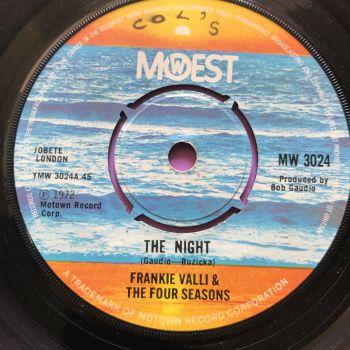 Frankie Valli-The night-UK Mowest wol E+