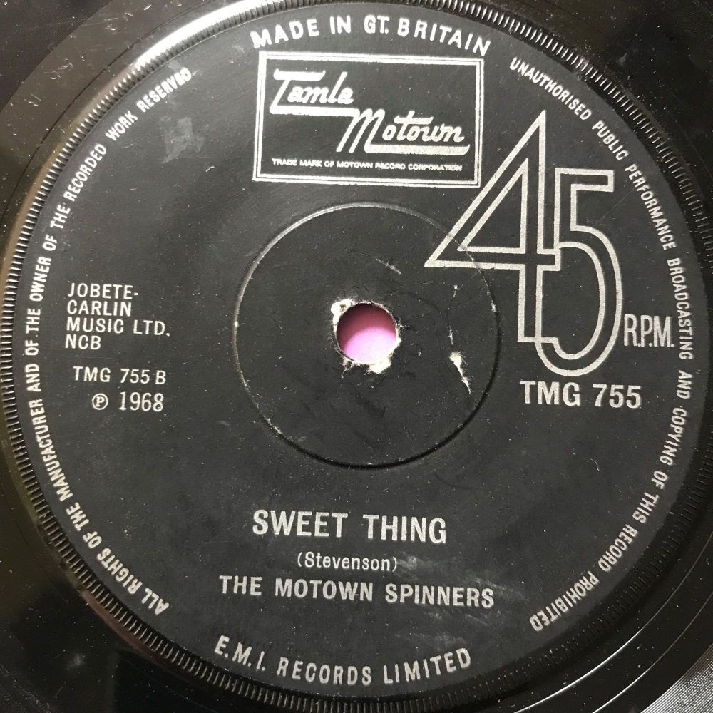 Motown Spinners-Sweet thing-TMG 755 vg+
