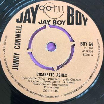 Jimmy Conwell-Cigarette ashes-UK Jayboy E+