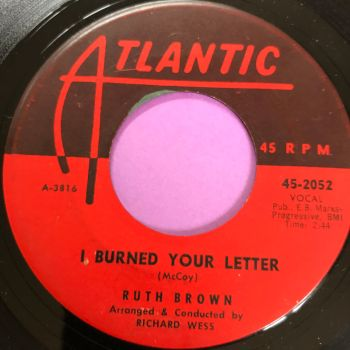 Ruth Brown-I burned your letter-Atlantic E+
