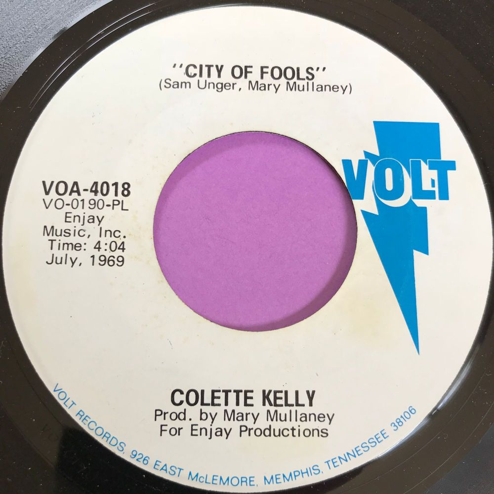 Colette Kelly-City of fools-Volt WD E+