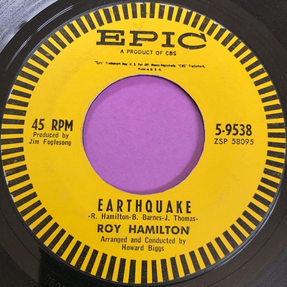 Roy Hamilton-Earthquake-Epic E-