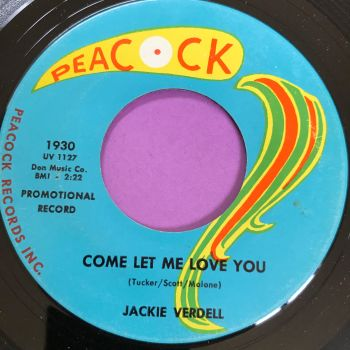 Jackie Verdell-Come let me love you-Peacock M-