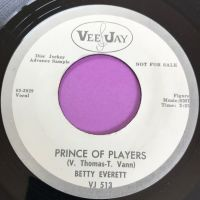 Betty Everett-Prince of players-VeeJay WD E