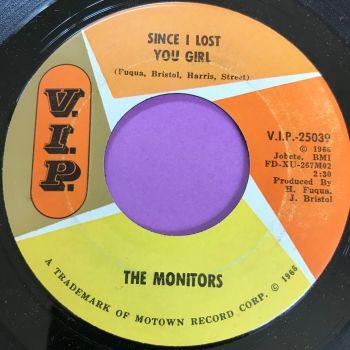 Monitors-Since I lost you girl-VIP  E+