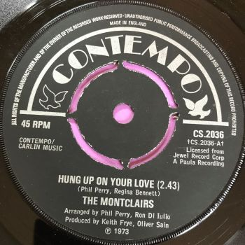 Montclairs-Hung up on your love-UK Contempo E+