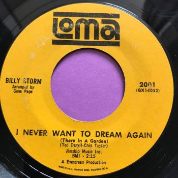 Billy Storm-I never want to dream again-Loma E