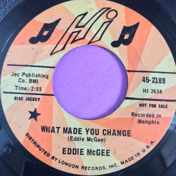 Eddie McGhee-What made you change-Hi demo E