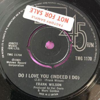 Frank Wilson-Do I love you-TMG 1170 E+