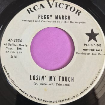 Peggy March-Losing my touch-RCA WD E+