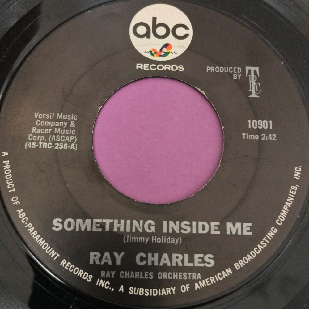 Ray Charles-Something inside me-ABC E+