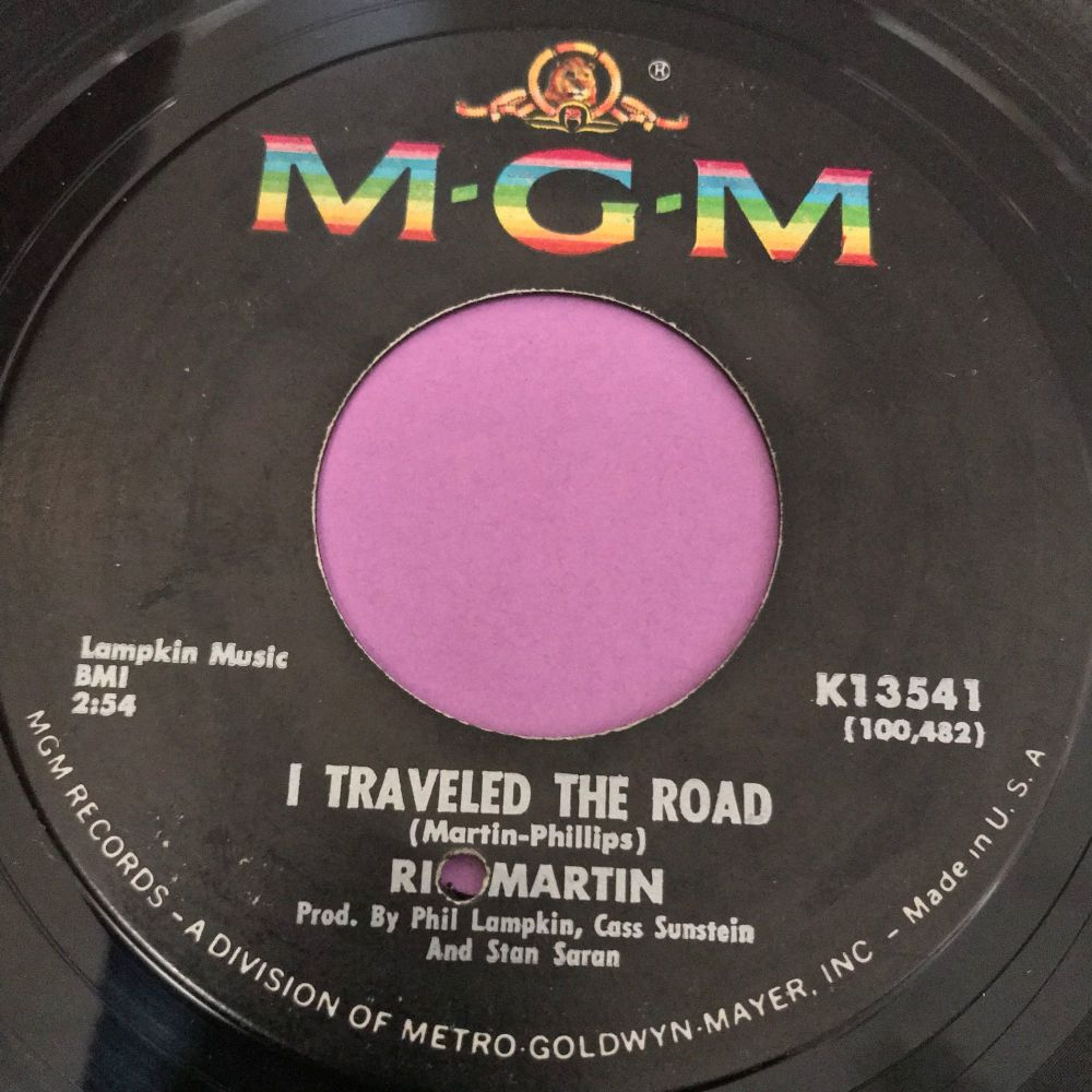 Ric Martin-I travelled the road-MGM E+
