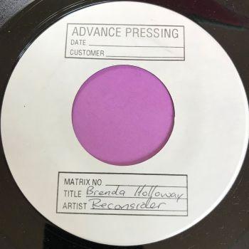 Brenda Holloway-Reconsider-Test Press M-