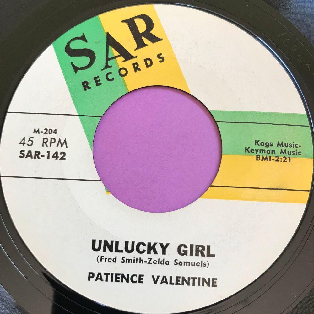 Patience Valentine-Unlucky girl-Sar E+