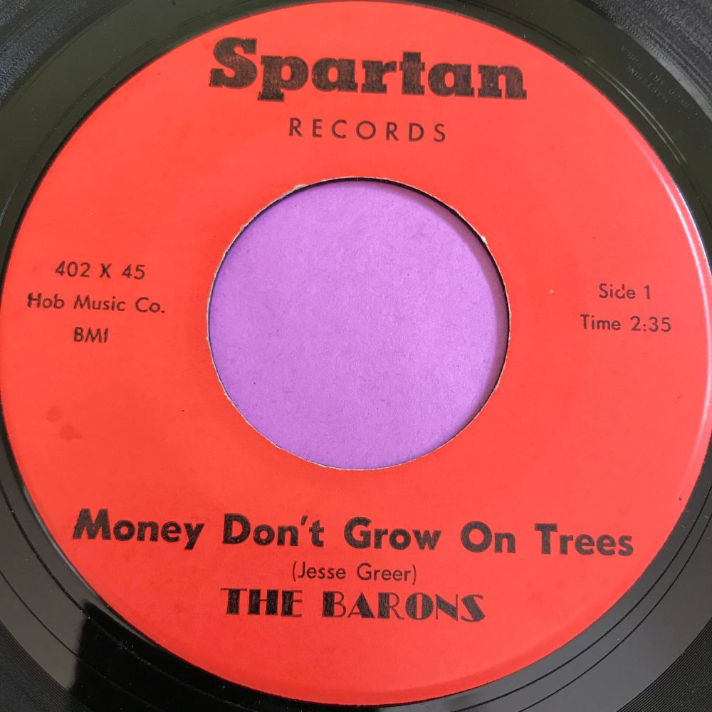 Barons-Money don't grow on trees-Spartan E+