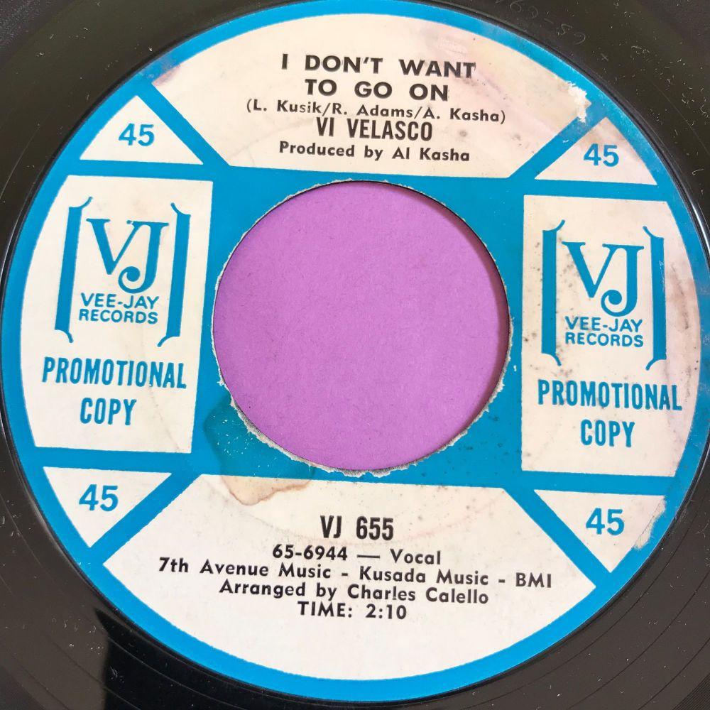 Vi Velasco-I don't want to go on-VJ Demo E+