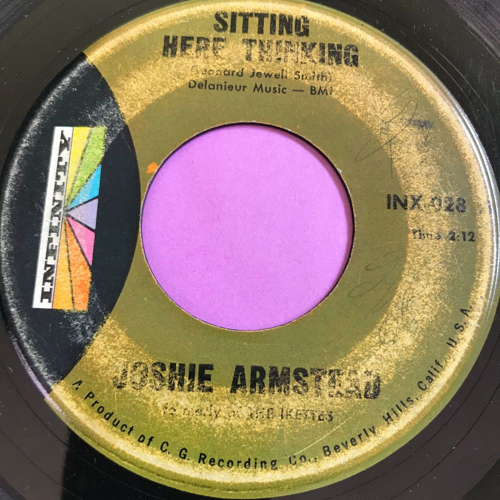 Joshie Armstead-Sitting here talking-Infinity vg+