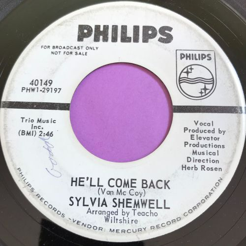 Sylvia Shemwell-He'll come back-Phillips WD wol E