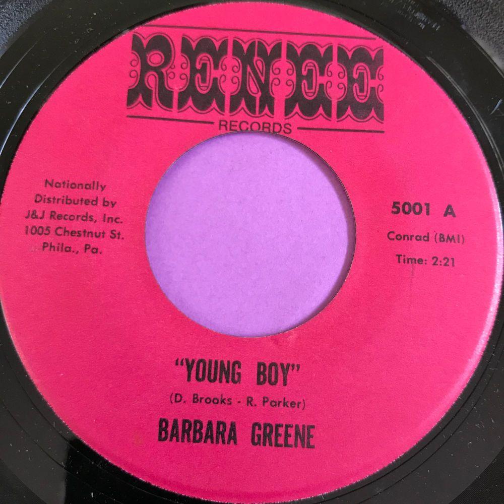 Barbara Greene-Young boy-Renee E+