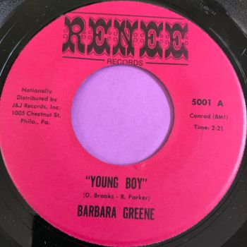 Barbara Greene-Young boy-Renee E+