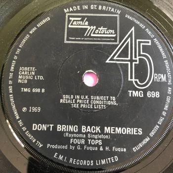 Four Tops-Don't bring back memories-TMG 698 E+