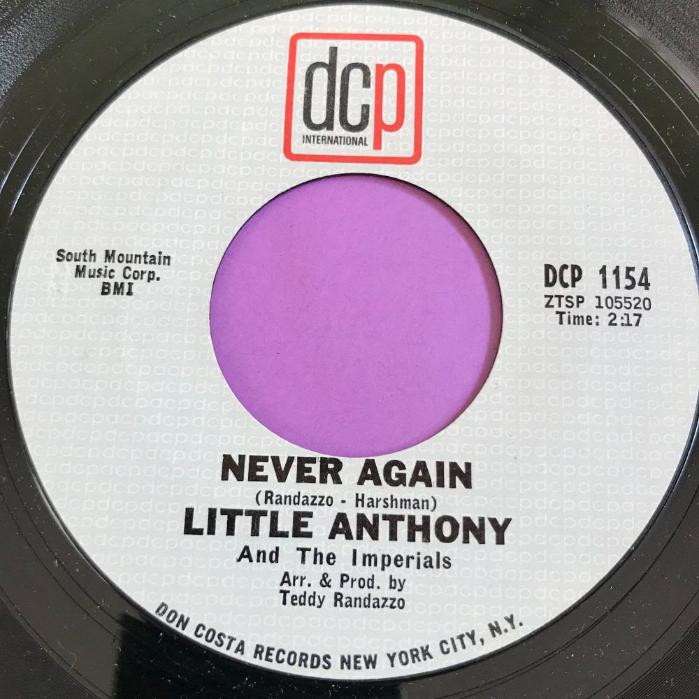 Little Anthony-Never again-DCP E+