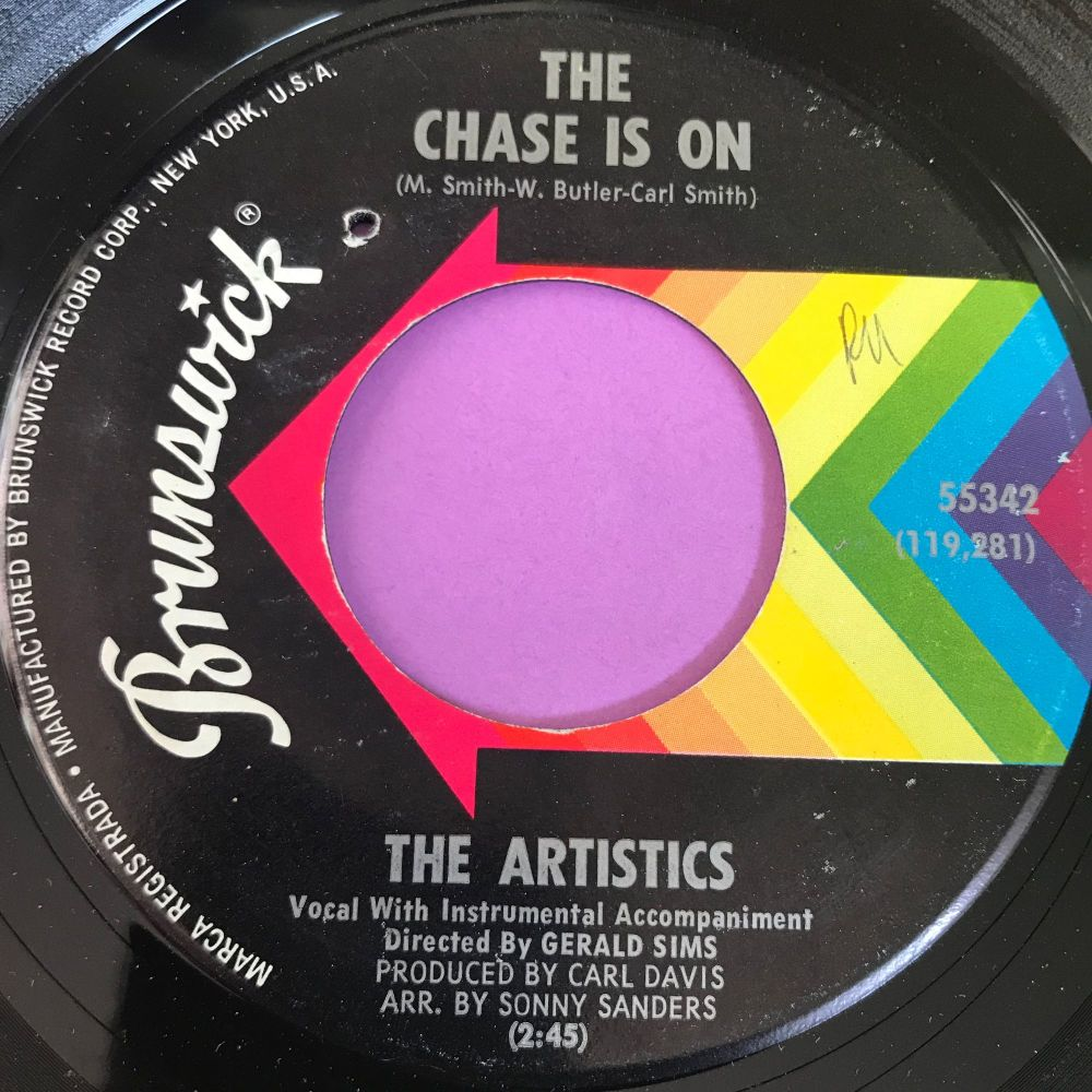 Artistics-The chase is on-Brunswick wol E+