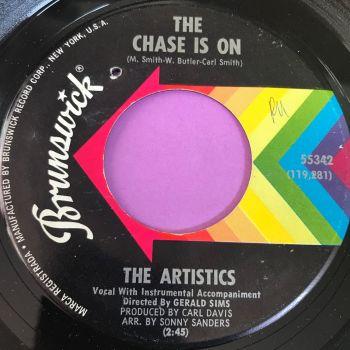 Artistics-The chase is on-Brunswick wol E+