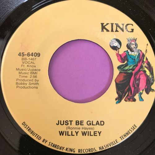 Willy Wiley-Just be glad-King E+