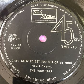 Four Tops-Can't seem to get you out of my mind-TMG 710 E+